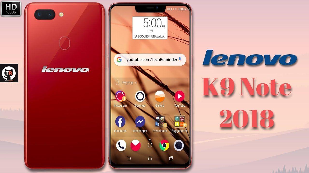 Lenovo K9 Note (2018) - Price, Camera, Specifications