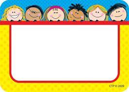 resultado de imagen para gafetes para nios de preescolar nametags for kids printable name tags