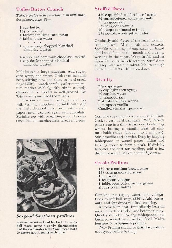 Better Homes And Gardens Christmas Ideas 2019 Vintage Christmas Candy Recipes from a 1959 Better Homes & Gardens
