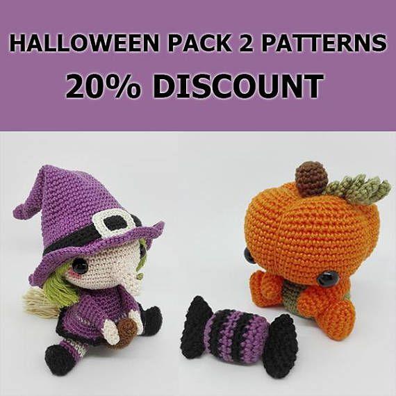 Halloween Pattern Pack / Halloween Pumpkin / Halloween Witch ...