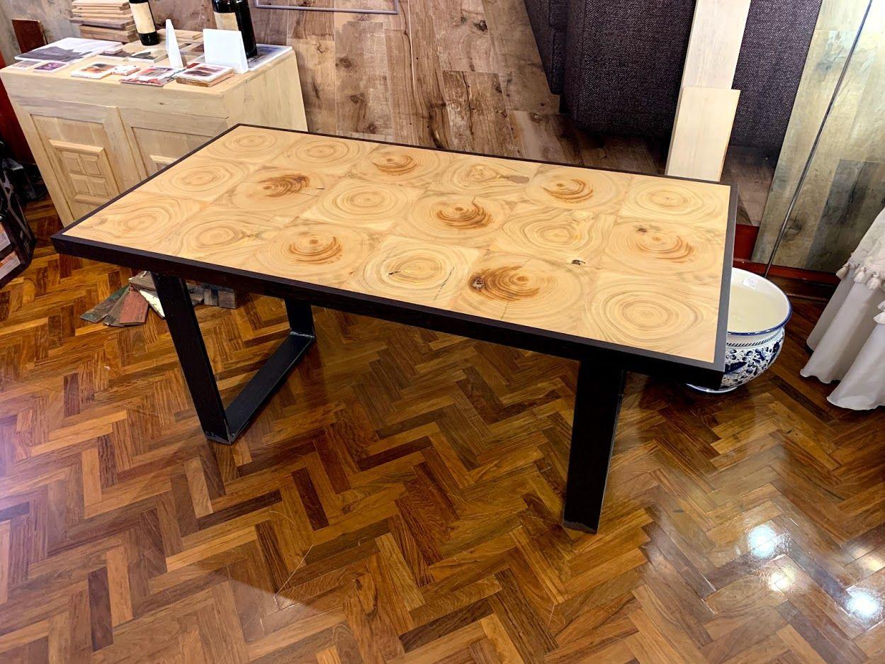 Nuovo Tavolo Fatto Di Legno Mobili Su Misura Tavoli Da Pranzo Idea Di Decorazione
