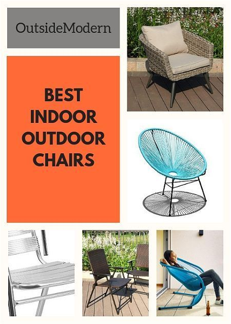 Best Indoor-Outdoor Chairs. Stylish, Flexible, Classic. | OutsideModern