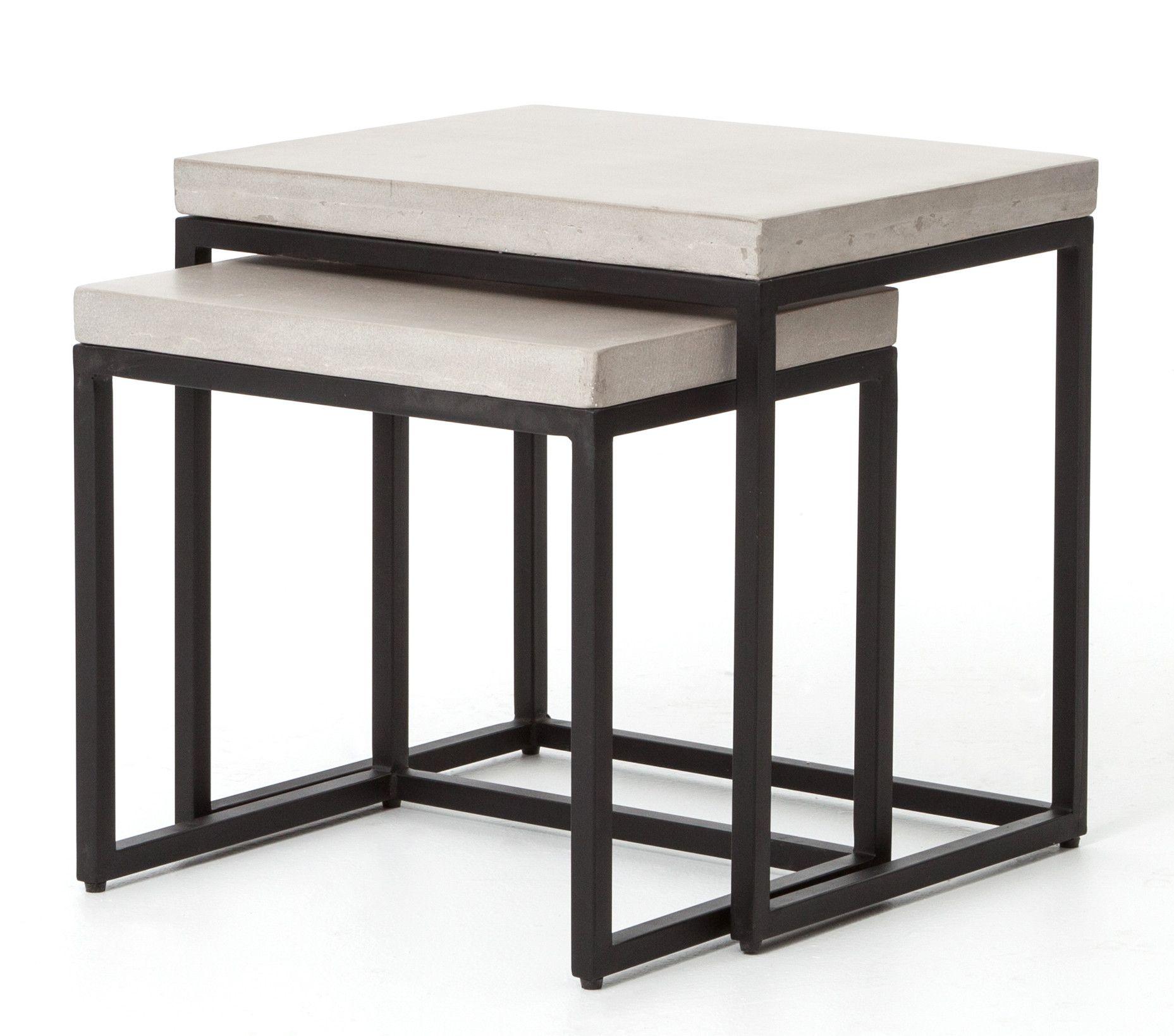 Maximus 2 Piece Nesting Tables Wayfair Coffee Table Table