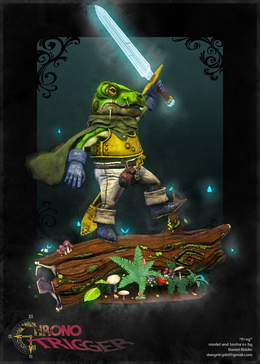 Great Moments In Gaming Frog Severs The Mountain In Chrono Trigger Chrono Trigger Chrono Best Rpg