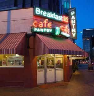 The Pantry Since 1924 Never Closed Never Without A Customer Los Angeles Restaurants Breakfast Cafe The Originals
