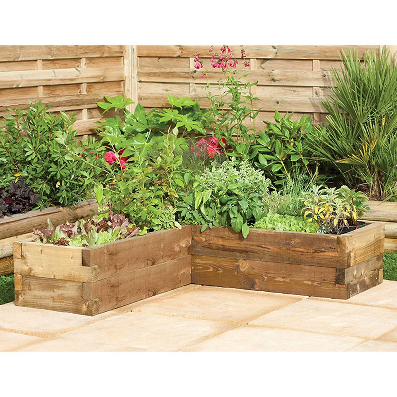 Forest Garden Caledonian Corner Raised Bed Forest Garden