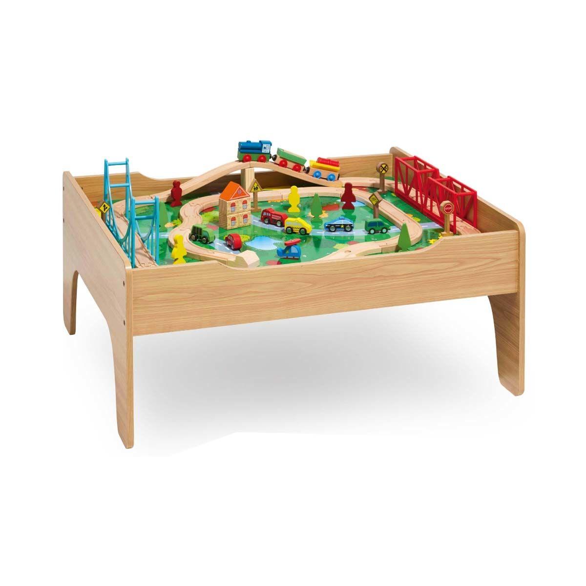 70 Piece Train Table Kmart Kids Wooden Kitchen