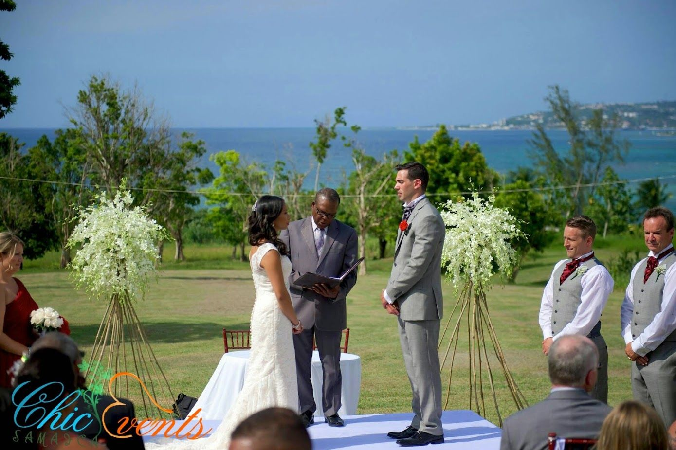 Chic Events Jamaica Provides Wedding Ceremony Reception Venue In