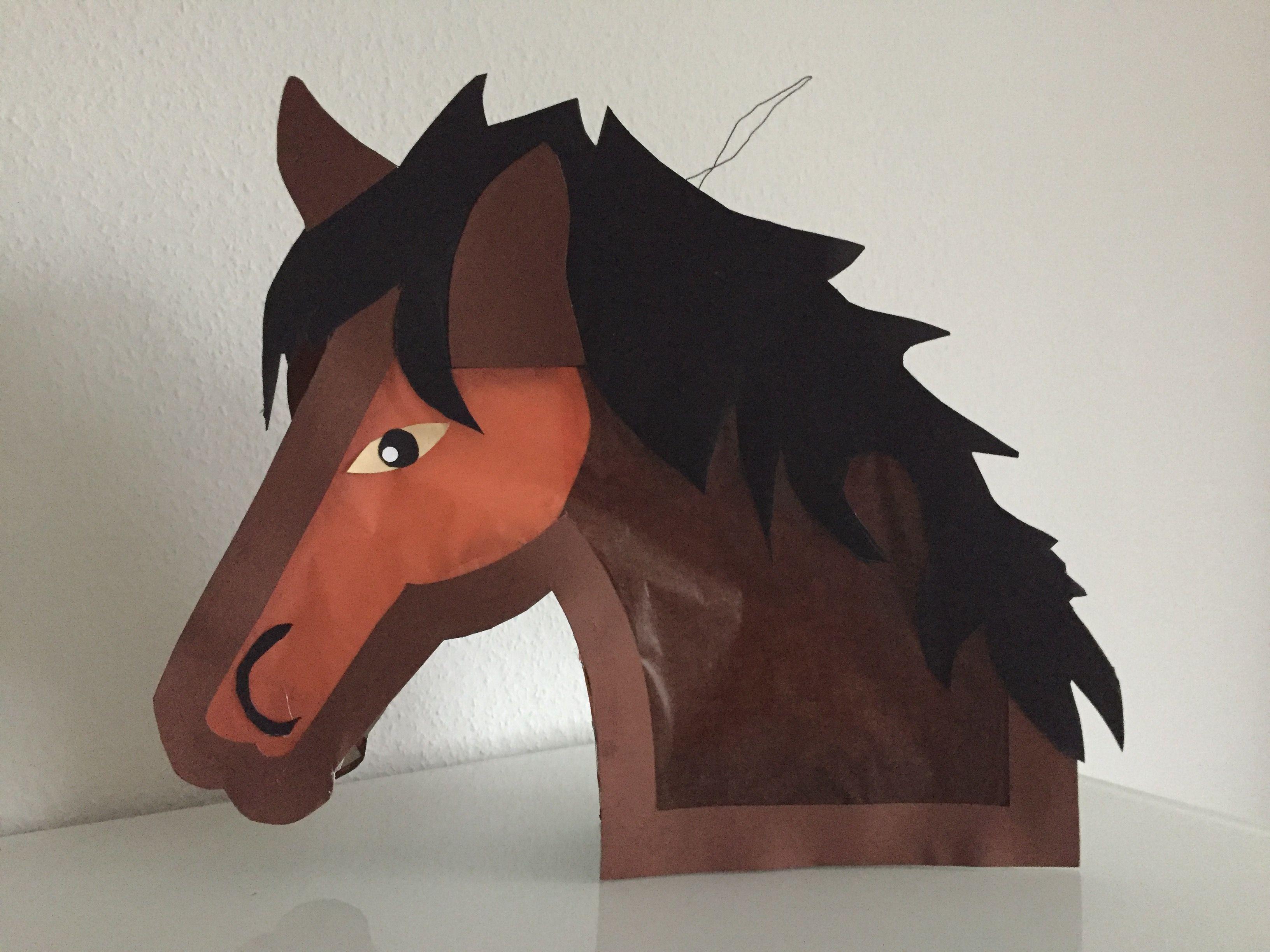 Pferdelaterne Laterne Pferd Kinderleichte Laternen Basteln Laternen Basteln Laterne Basteln Vorlagen