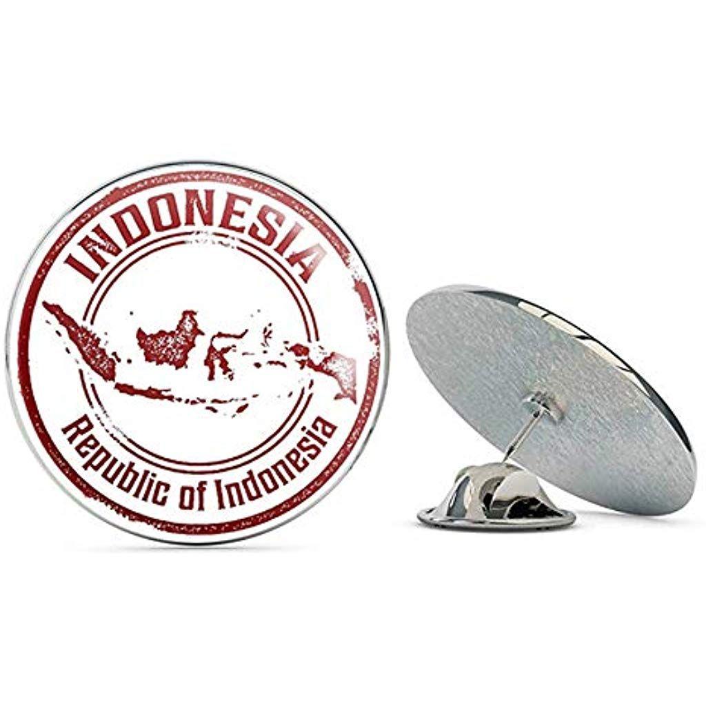 Indonesia Round Metal 0 75 Lapel Pin Hat Shirt Pin Tie Tack Pinback Jewelry Jewelrybox Jewelrynewyork Jewelry Stores Near Me Jewelry Candles Jewelry Near Me