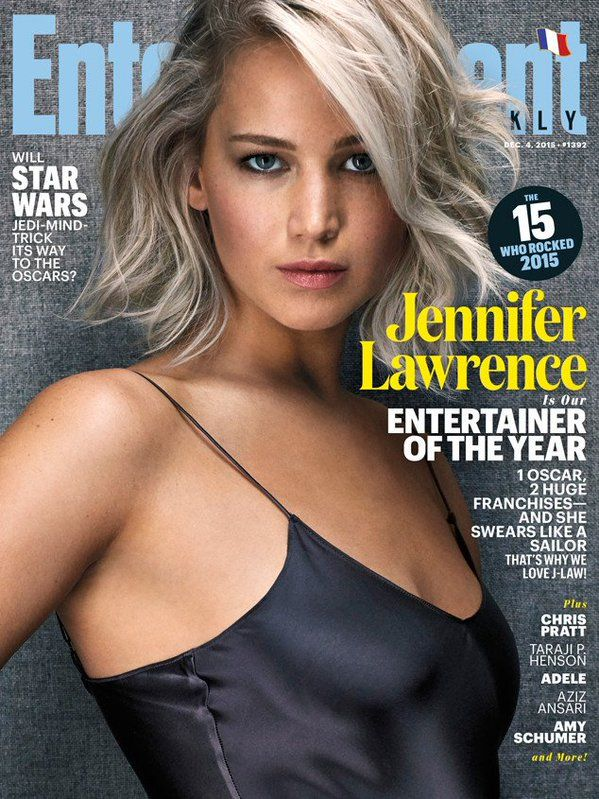 Jennifer Lawrence en la tapa de la Revista @EW de Diciembre