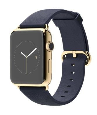 Apple Watch Edition 18K Yellow Gold Case with Midnight