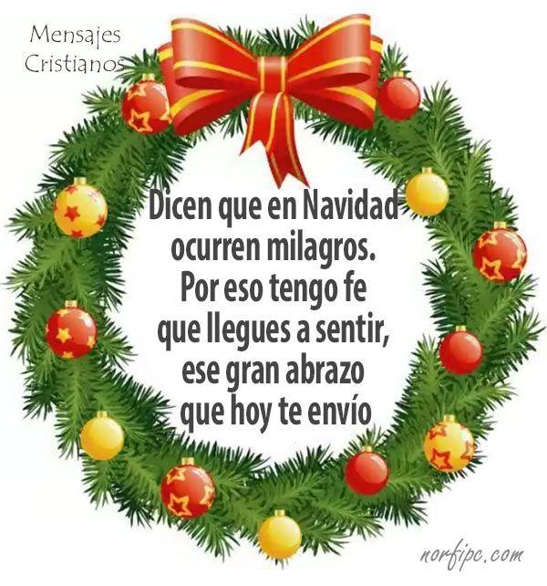 Mensajes cristianos para Diciembre, Navidad y fin de año