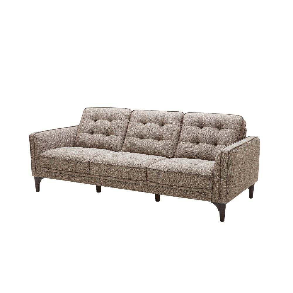 Best Brown Tweed Mid Century Modern Sofa Chantham Mid 400 x 300