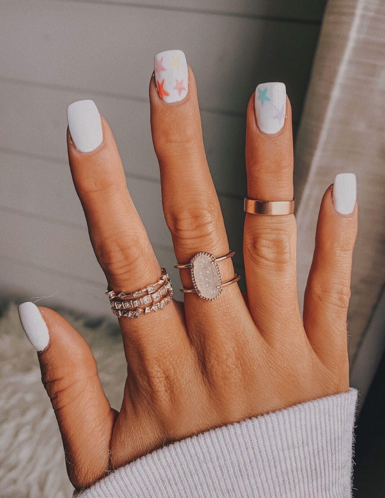 Vsco Chynamcghee Dream Nails Star Nail Designs Star Nails