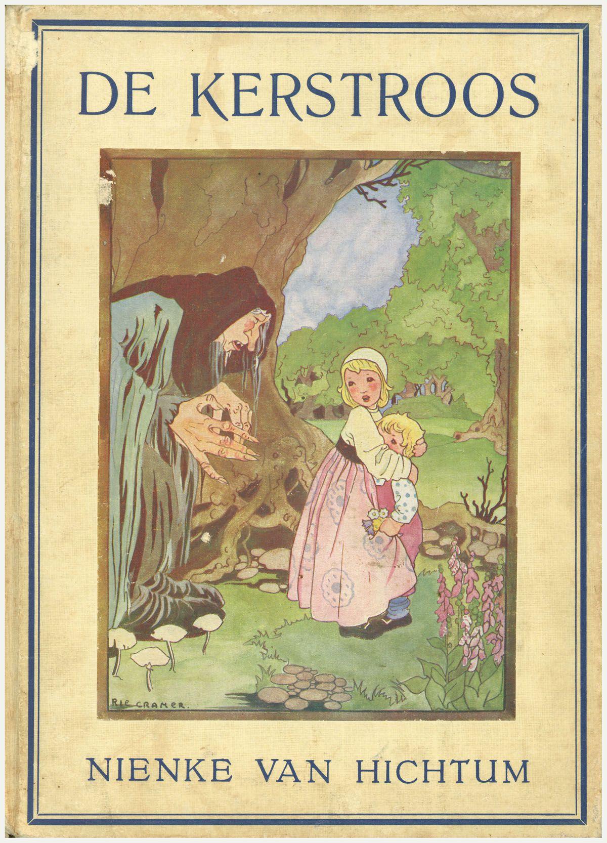 De kerstroos : sprookjes en vertellingen met zwarte en gekleurde platen van Rie Cramer