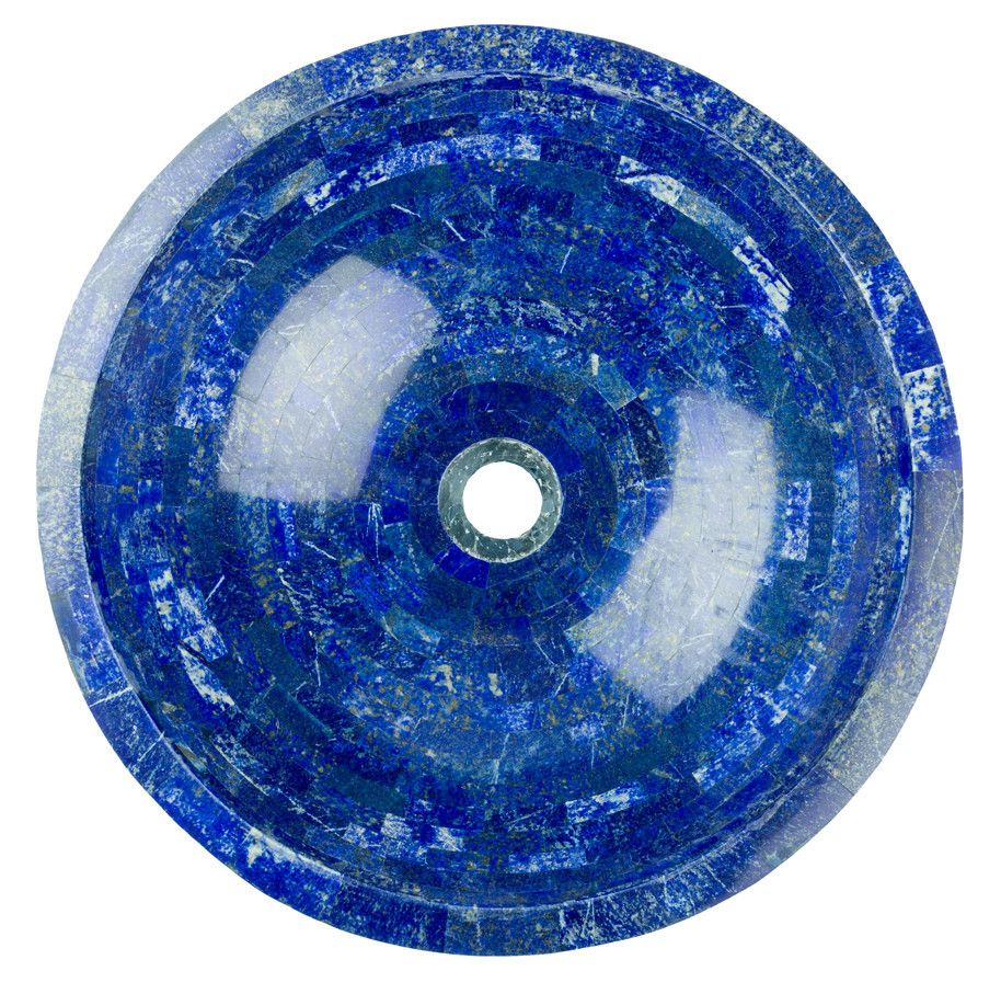 Lapis lazuli house - Lapis Lazuli Vessel Bathroom Sink From Uniquesinks Co Uk