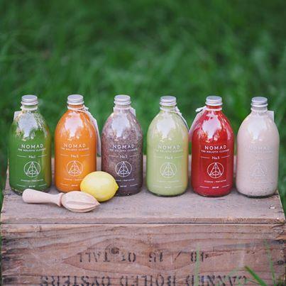 Nomad Nutrition Juice Cleanse Label Botol Minuman Kemasan