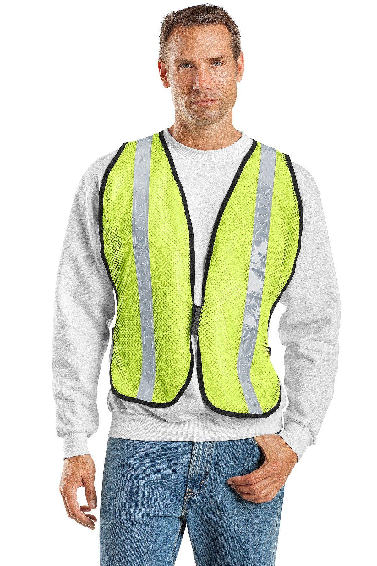 Port Authority Mesh Enhanced Visibility Vest SV02 Safety
