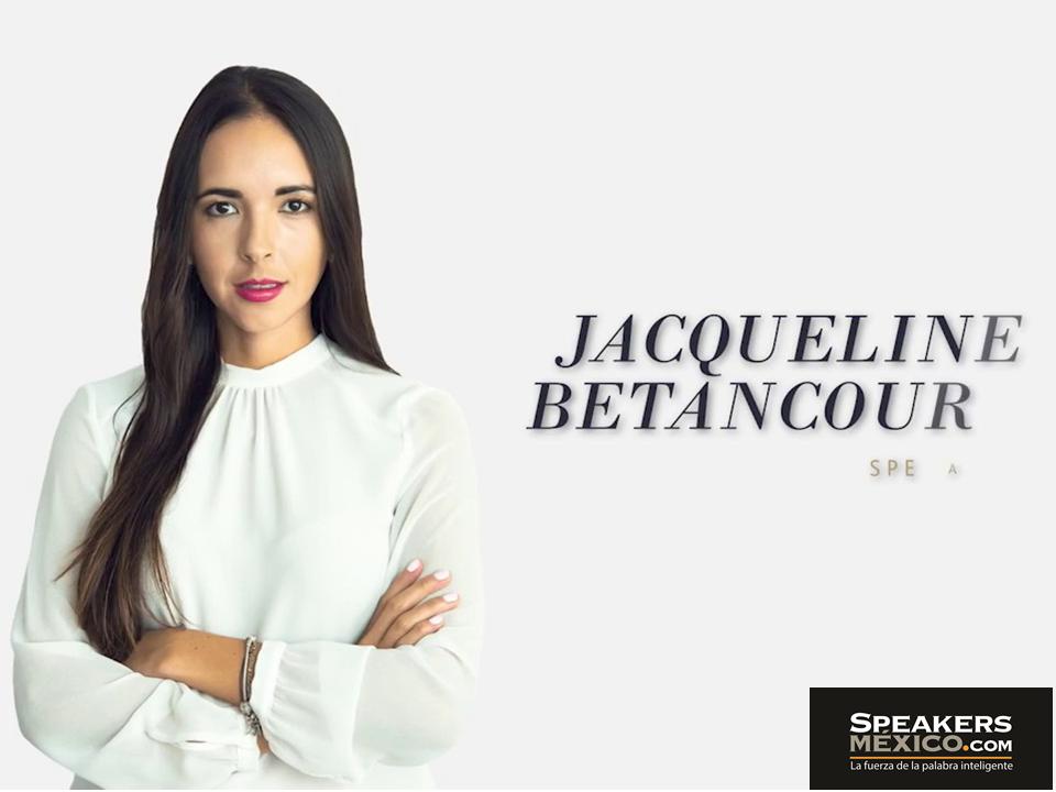 Conferencias Motivacionales Jacqueline Betancourt Es Una