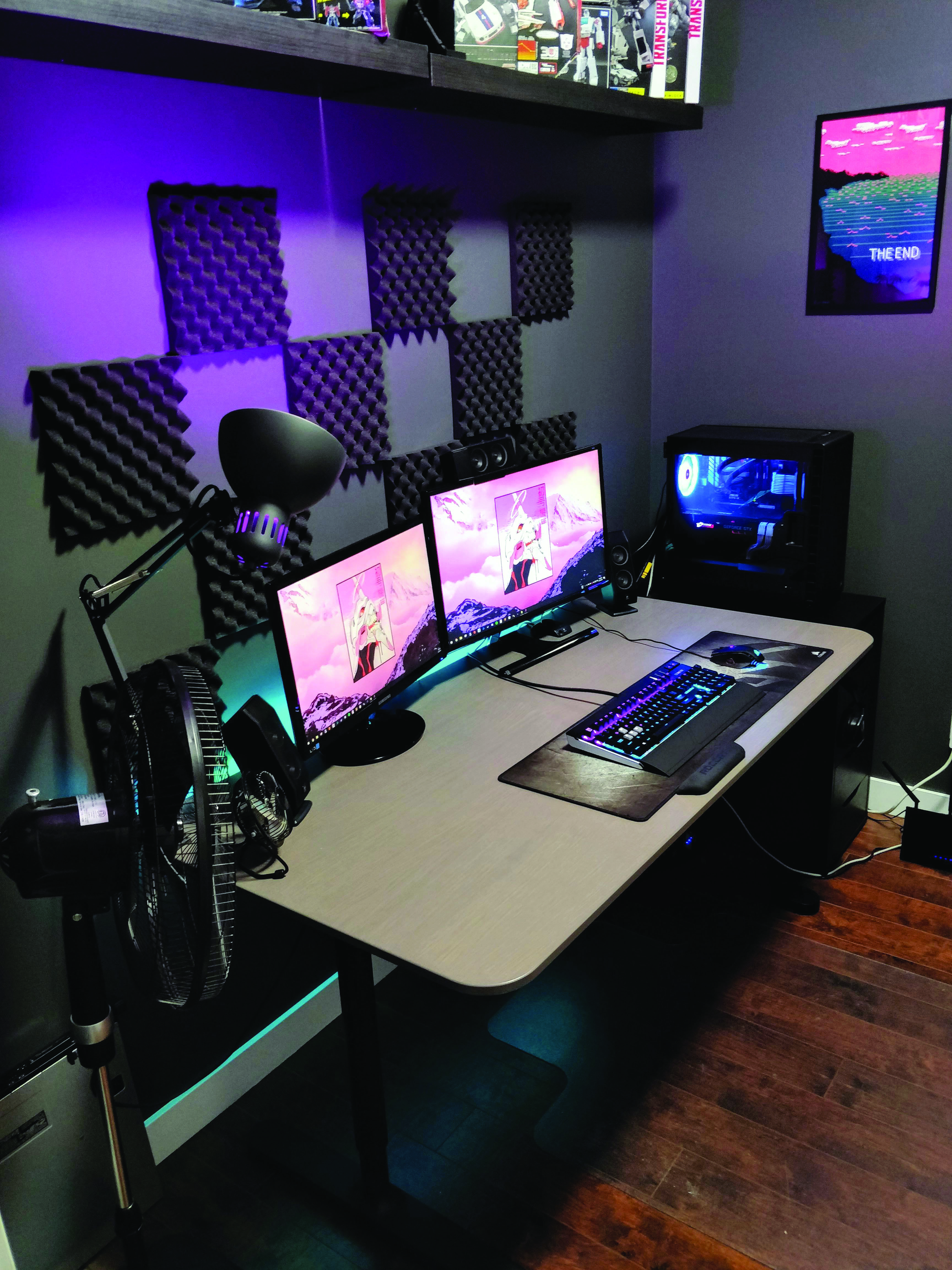 Gaming Computer Desk Dova Home Game Room Furniture Game Room Decor Computer Room