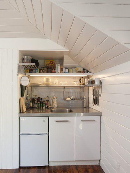 Pin by Angela on kitchen goals | Pinterest | Attic, Studio ...