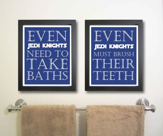 Nursery art print, Star Wars, Children Decor, Typography