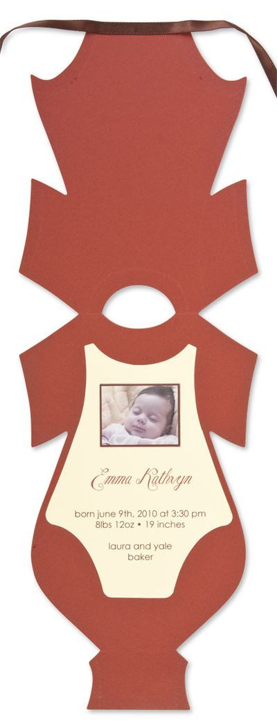 Onesie card Inside   cards, cards, and more cards   Baby ...