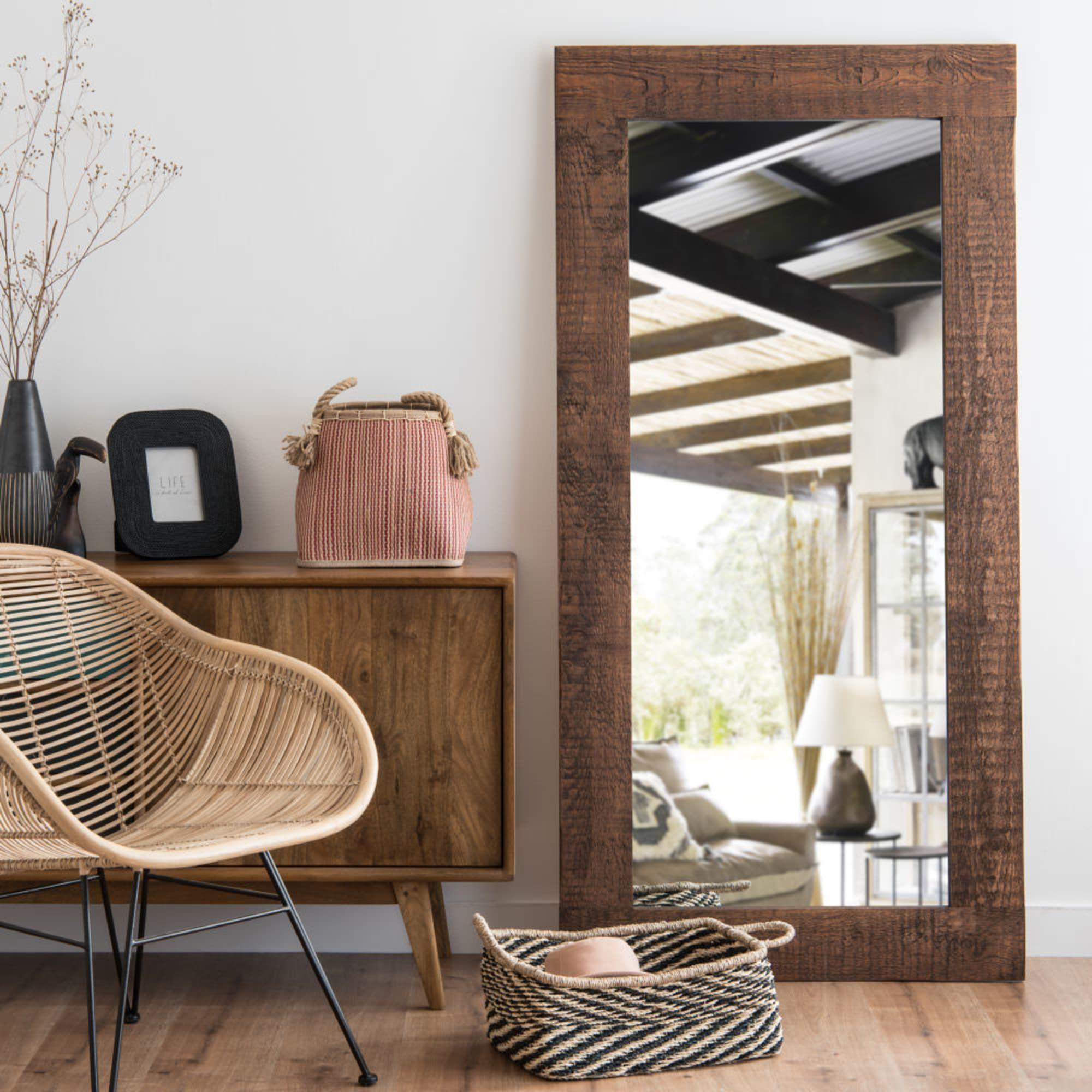 Miroir En Pin 82x165 Maisons Du Monde Deco Hygge Meuble Salle A Manger Mobilier De Salon