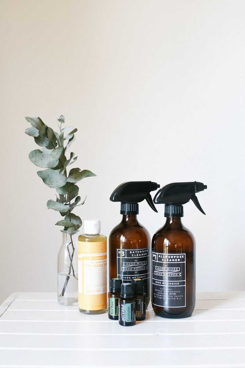 make your own natural cleaning essentials | Practising Simplicity | Bloglovin'