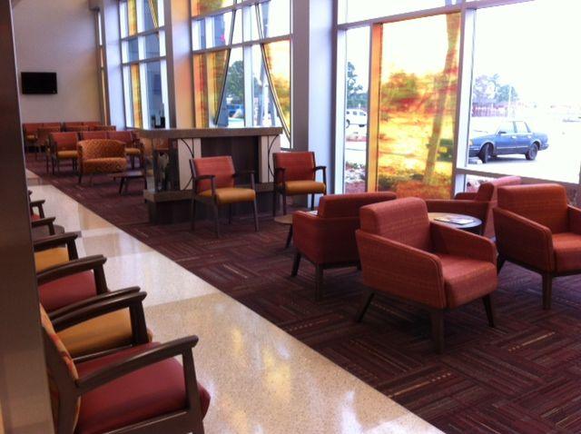 KI furniture spotted in the wild at the Chickasaw Nation s     KI furniture spotted in the wild at the Chickasaw Nation s Tishomingo  Health Clinic   iSpyKI