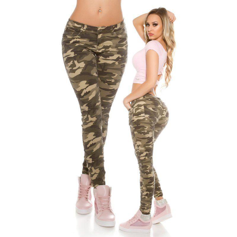 06566b82404b Dámske maskáčové nohavice Camouflage v roku 2019