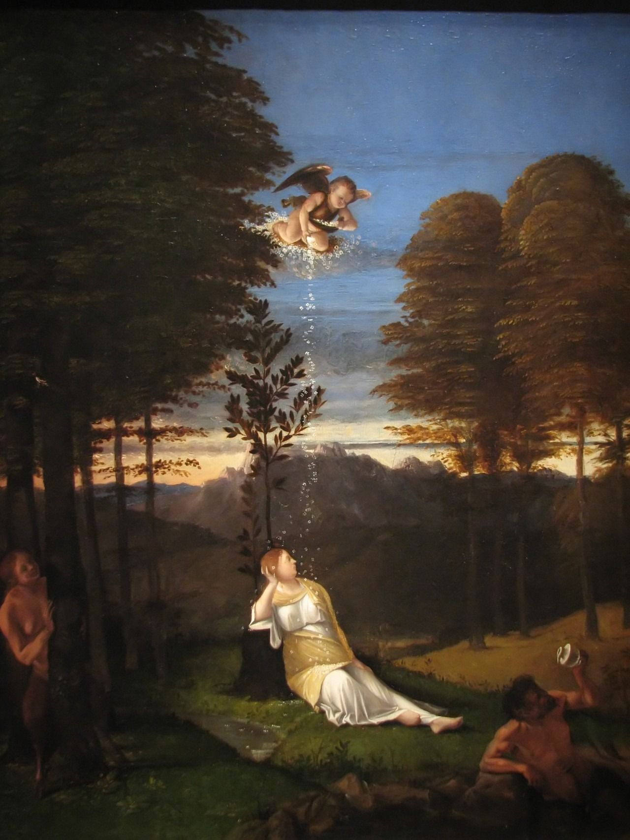 Lorenzo Lotto:Allegory of Chastity, 1505.