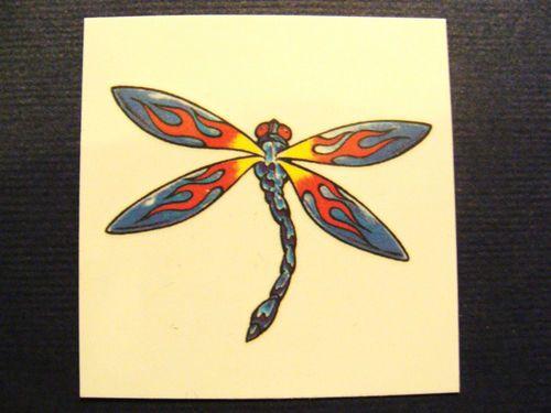 Temporary Beautiful Dragonfly Tattoo   eBay