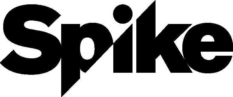 A New Edgy Logo For Spike Tv Contemporary Logo Logo Tv Spike Tv
