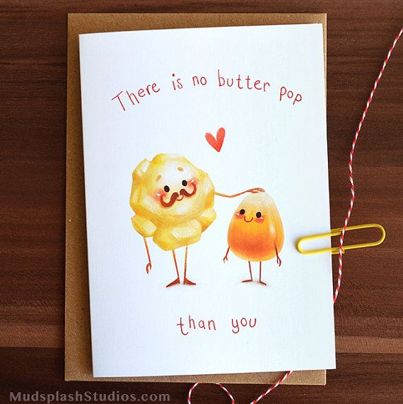 Lisa S Tool Time Father S Day Card: Funny Fathers Day Card, Popcorn Pun, Thanks Dad