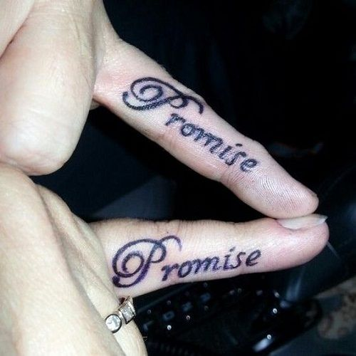 100 Unique Best Friend Tattoos with Images | Friend tattoos, Finger ...