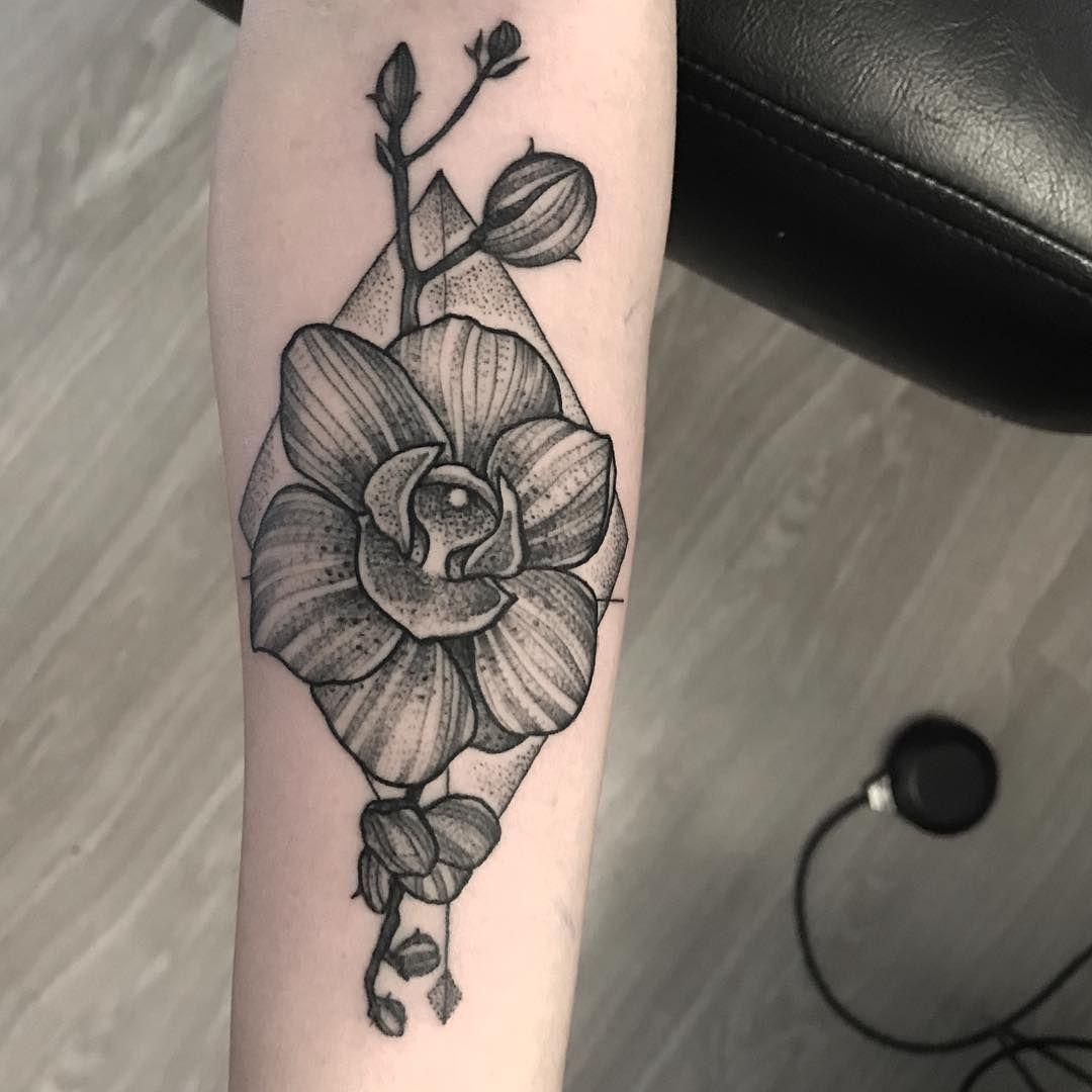Orquidea Tatuaje Flores Tattoos Flower Tattoo
