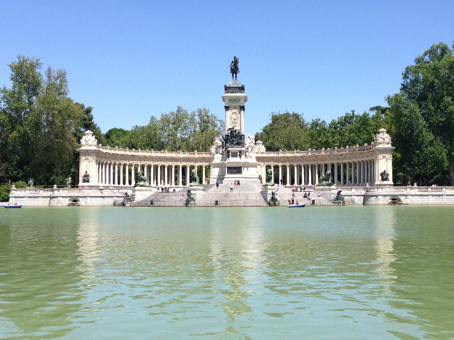 Buen Retiro Park Madrid Spain