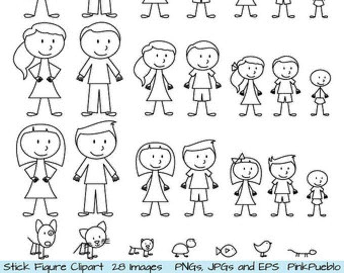 12++ Clipart stick figure family ideas