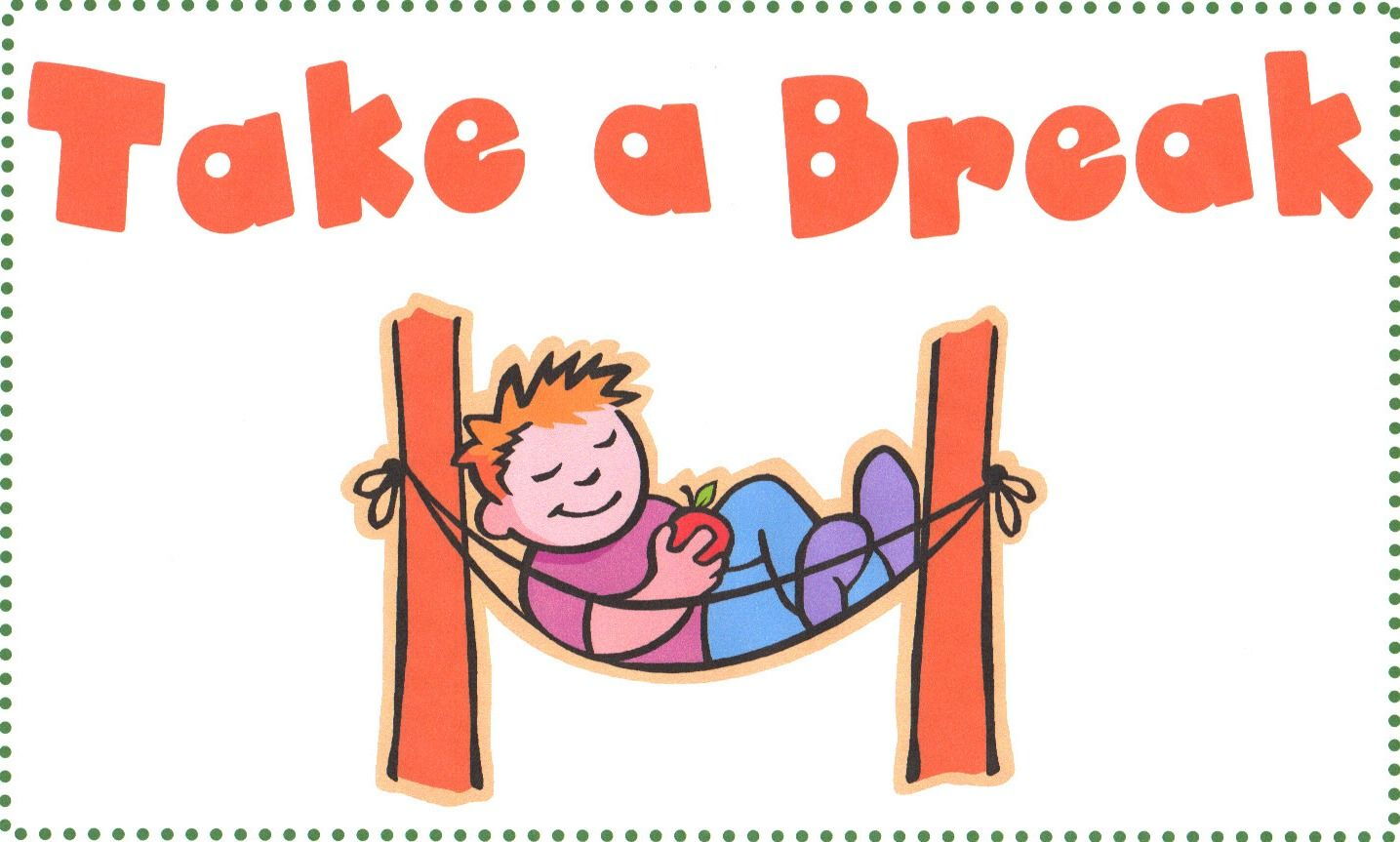 responsive classroom-take a break sign | for the classroom