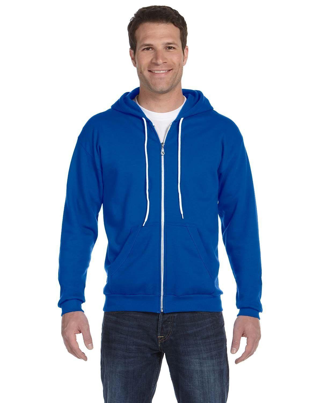Anvil Full-Zip Hooded Fleece 71600 ROYAL BLUE
