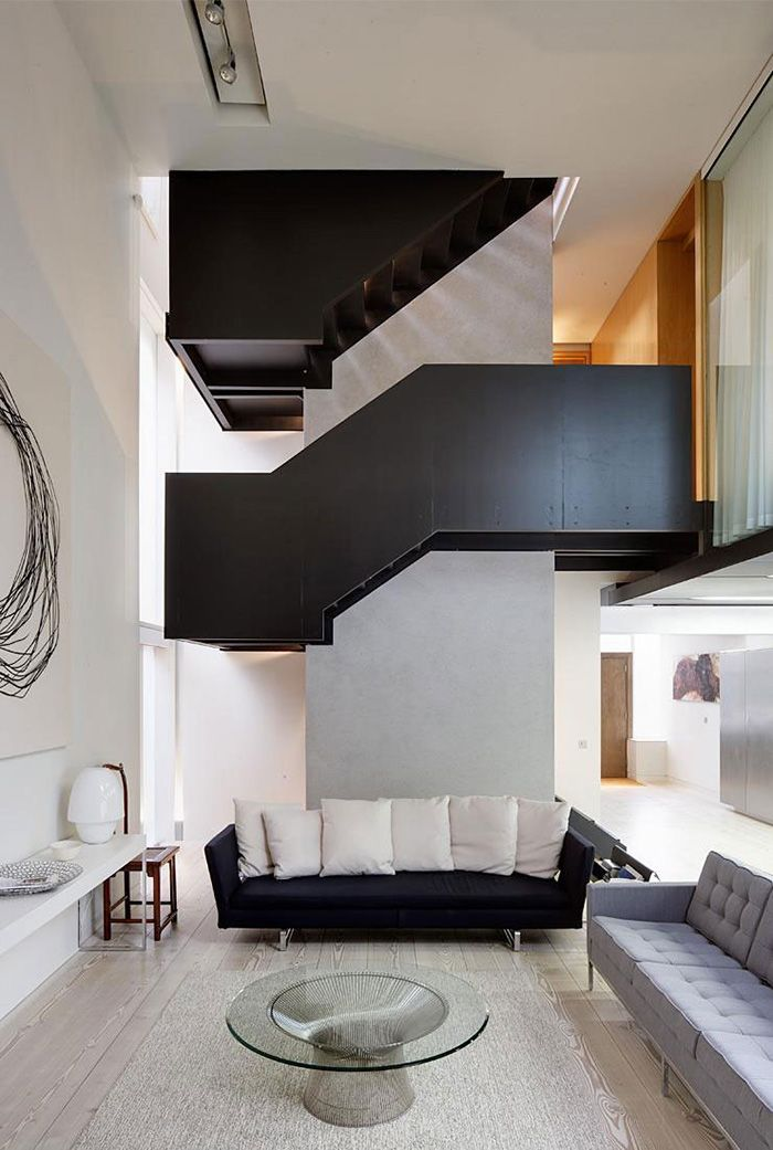 This Beautiful Line House In London England Is A Modern Home With