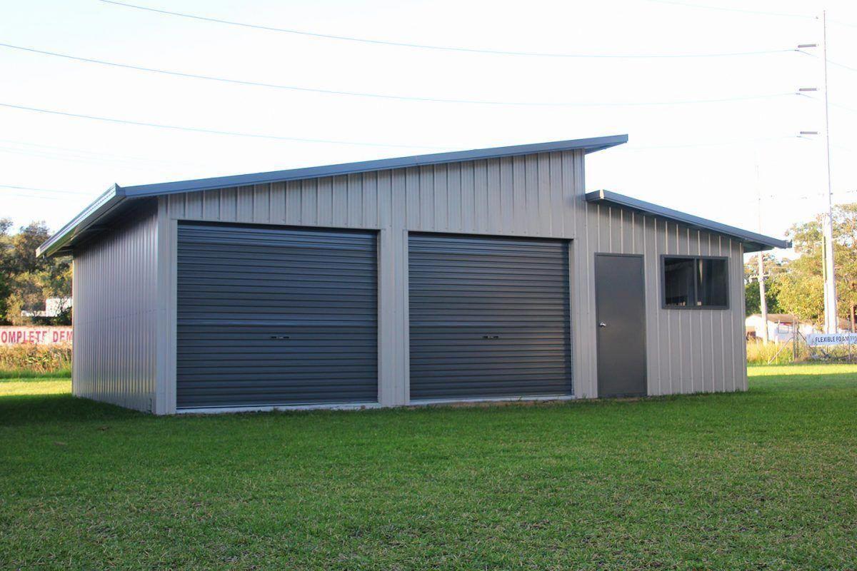 Best Shed Roof Garage Ideas Shedbuildingideas Skillion Roof Garage Door Design Roller Doors