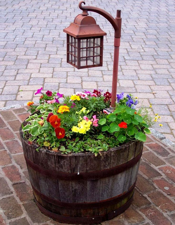 Colorful Summer Diy Garden Projects | Pinterest | Diy garden ...