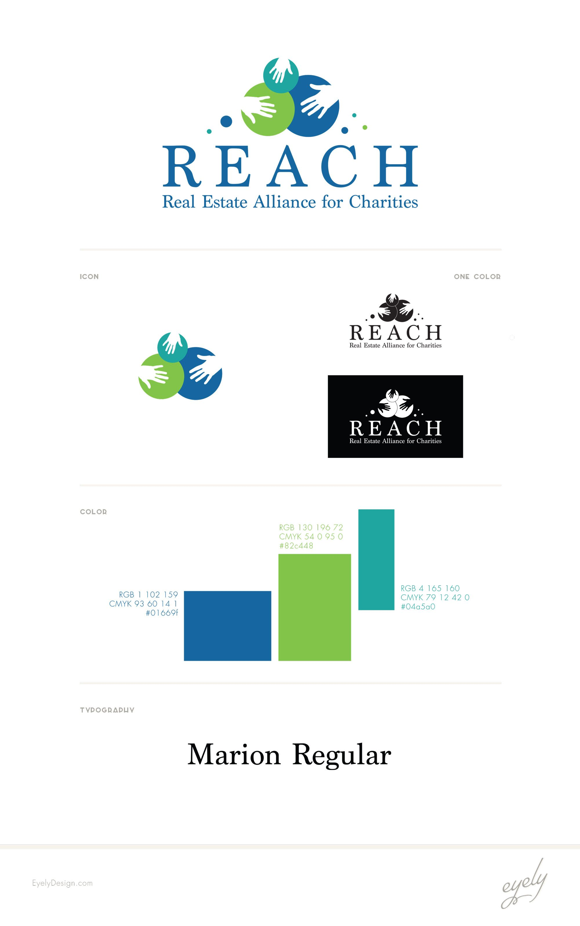 REACH Real Estate Logo for NonProfit in Southern New