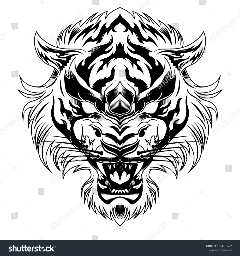Pin By Armarcelino On The Art Tiger Head Tattoo Tiger Tattoo Design Tiger Hand Tattoo