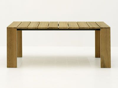 Table bois exterieur for Meuble urano