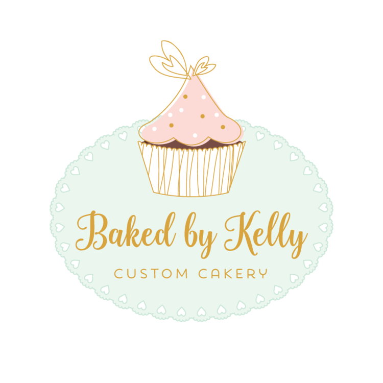 Cupcake Premade Logo Design Customized With Your Business Name