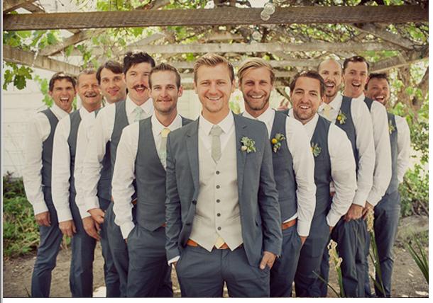 Ushers Groomsmen Attire Wedding Groomsmen Groomsmen Grey Wedding Groom
